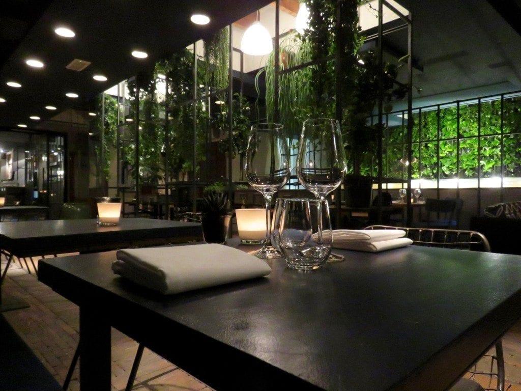 Restaurant le jardin nieuwe parel op de mariaplaats Le jardin restaurant