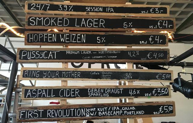oproer pub brewery Explore Utrecht 5