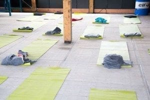 3x yoga in de buitenlucht in Utrecht 1