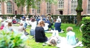 Courtyard Concerts in the museum Catherijneconvent