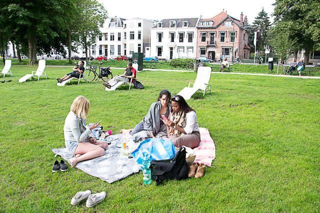 Deliveroo in het Park Explore Utrecht 4