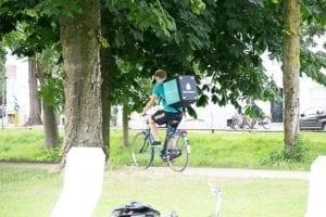 Deliveroo in het Park Explore Utrecht 14