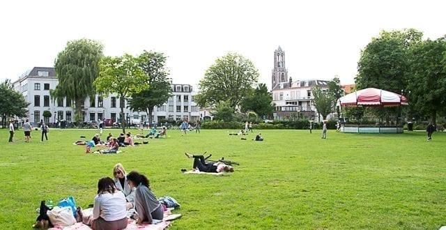 Deliveroo in het Park Explore Utrecht 15