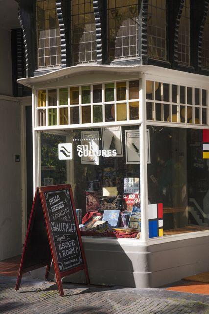 Spel Winkel Oude Gracht Explore Utrecht 1