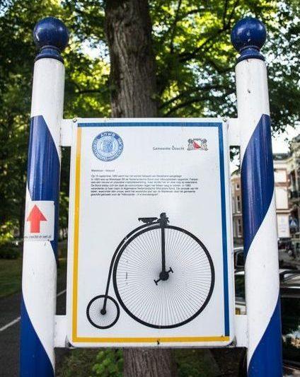 explore Utrecht Tour 2 cycle-path-sign-1
