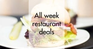A week of restaurant deals in Utrecht