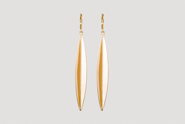 Julia Otilia-Eucalyptus leaf earrings-99