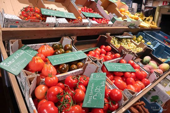 amersfoort tour nieuwe graanschuur tomaten verse groentes