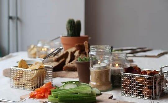 amersfoort tour SEM sla en meer brood dips en groentes
