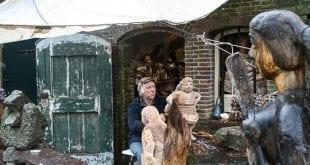 Beeldhouwer Oudegracht Explore Utrecht 1