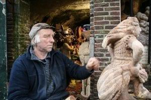 Beeldhouwer Oudegracht Explore Utrecht 3