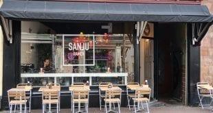 Noedels slurpen bij Sanju Ramen op de Voorstraat