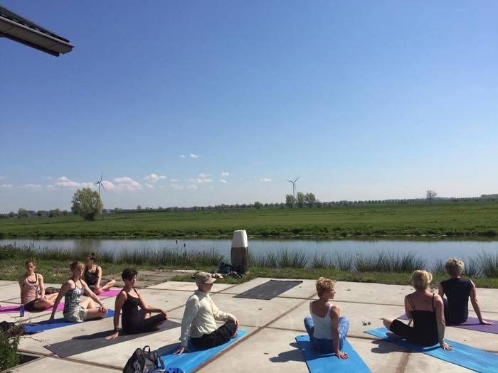 yoga in de buitenlucht locatie Nieuwegein