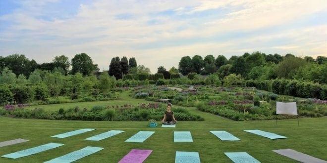 yoga in de buitenlucht locatie Vleuten