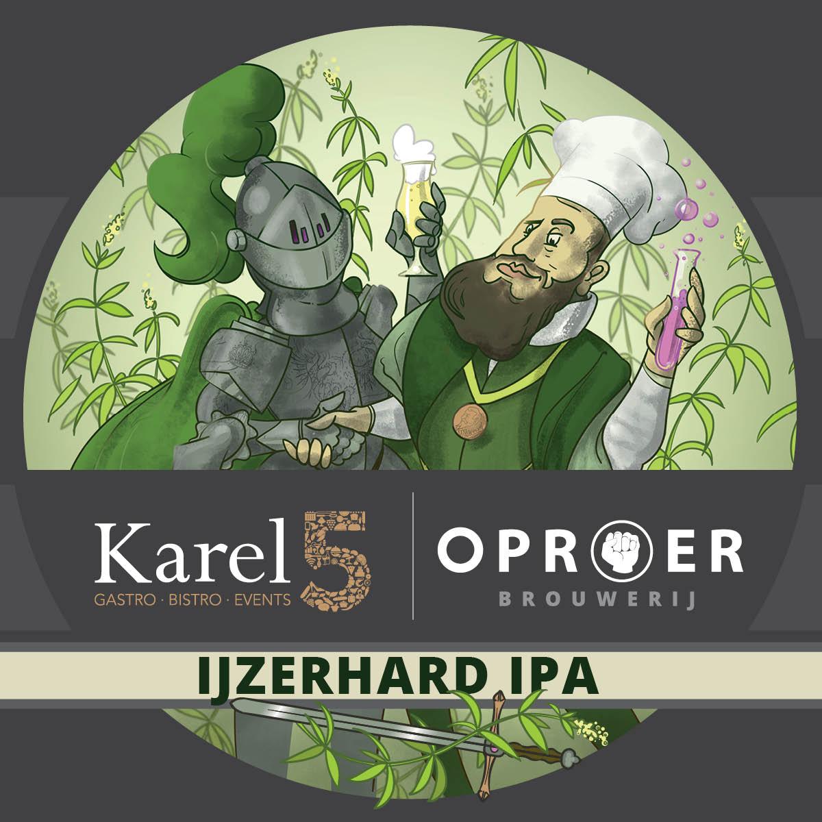 IJzerhard IPA Karel 5 x Oproer