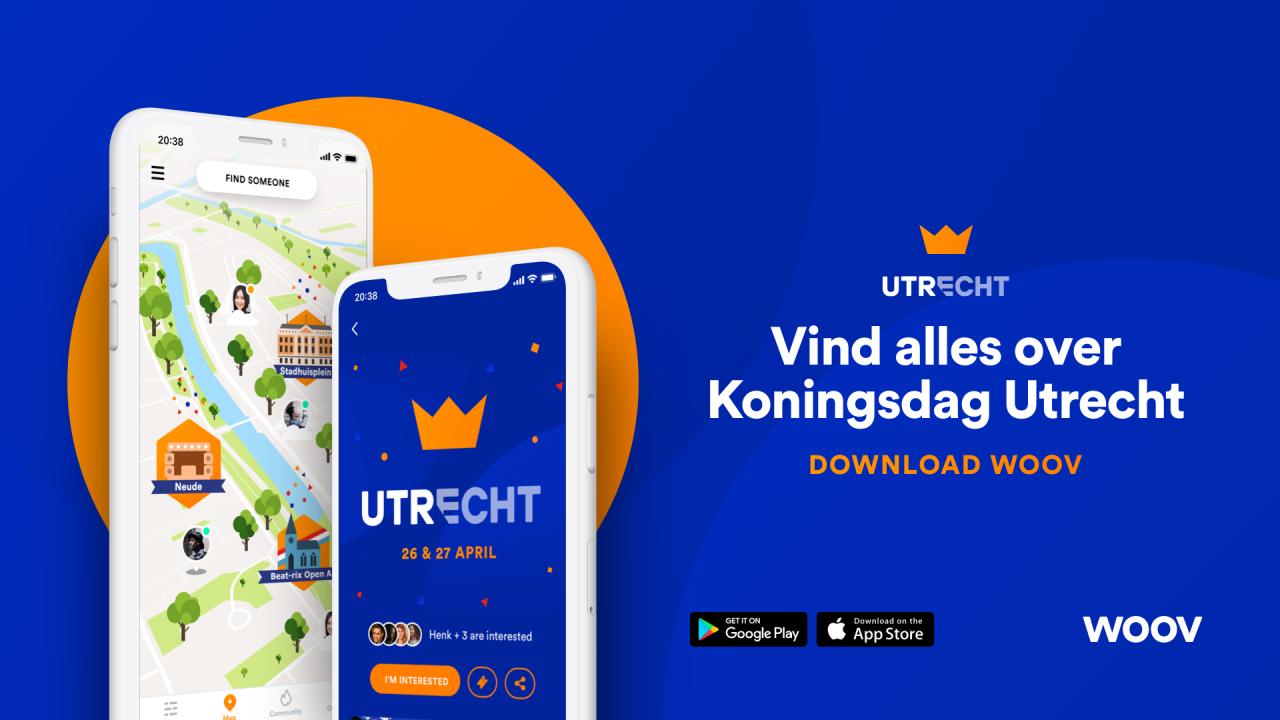 Koningsnacht Utrecht Woov - City Live Image
