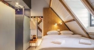 BUNK | combination of hotel and hostel at the Singel